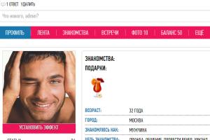 отзывы о мужчинах с сайтов знакомств новосибирск