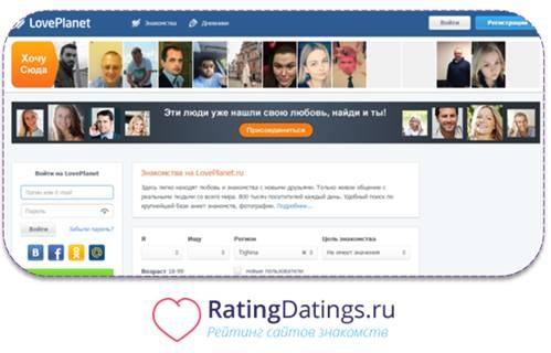 приложения на сайте loveplanet